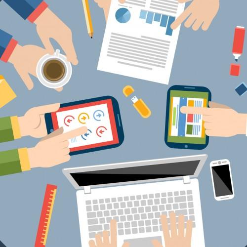 Per il tuo sito internet aziendale, scegli ROUND Studio Web!