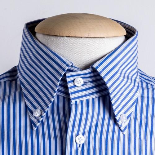 Tecnologia in fase di confezione della camicia artigianale