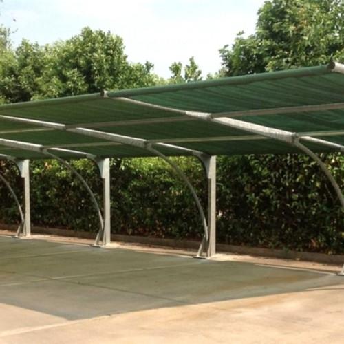 Realizzazione di tettoie per auto ad uso domestico o for Tettoie per auto ticino